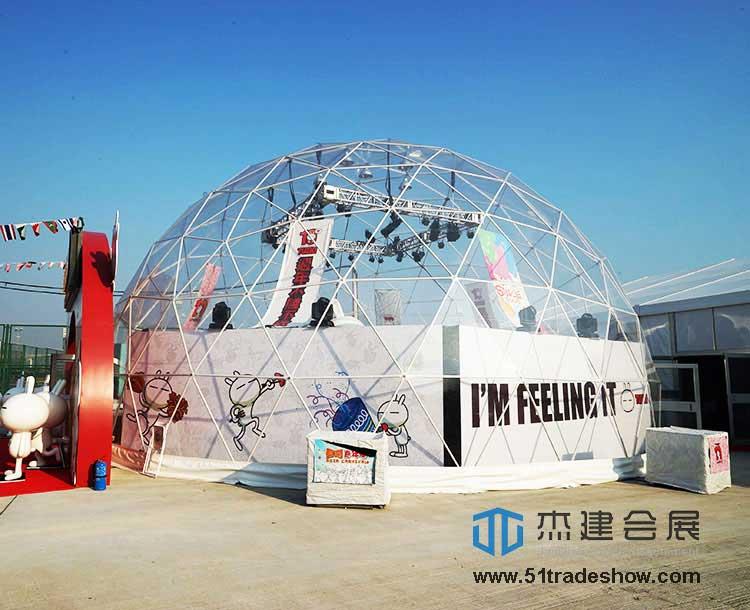 活动球形篷房